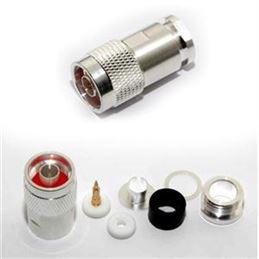 Conector N macho para cable RG-213 (UG-21 STG) - FALCON UG-21-STG