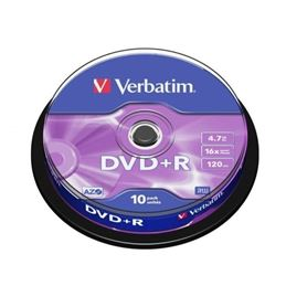 Verbatim DVD+R 16x 4.7GB Tarrina 10 Unidades - art_verb-dvd-r-4.7gb-10u_1-600x600
