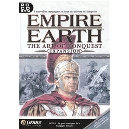 Empire Earth: The art of Conquest EXPANSIÓN PC - empire-earth-the-art-of-conquest-windows-front-cover
