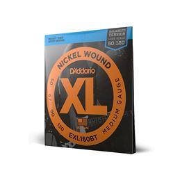 Juego cuerdas bajo EXL160BT BALANCED (50-120) - d-addario-juego-cuerdas-bajo-exl-160bt-50-120