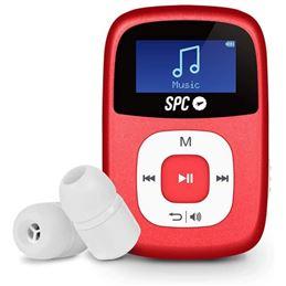 Spc 8644R Reproductor MP3 Sparrow 4GB Rojo - spc-8644r-sparrow-rojo_1