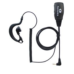 Komunica KP-2208 Micro-auricular comp Motorola PMR - kp-2208-micro-auricular-basico-komunica-compatible-con-motorola-pmr-t62t82-