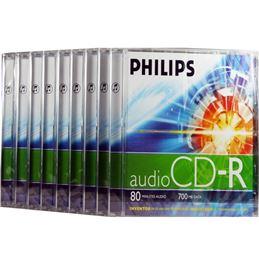 Philips CD-R80 Audio 700mb 80 min - Philips CD-R80 Audio 700mb 80 min
