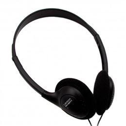Lauson PH-92 Auricular TV cable 6,00m. Negro - ph-92tv-auriculares-de-aro-para-tv-negros