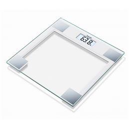 Beurer GS-14 Báscula baño cristal blanca - Beurer GS-14 Bascula baño cristal