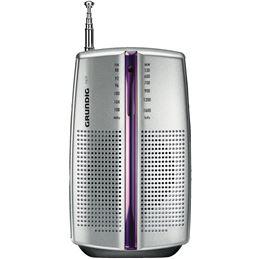 Grundig PR-3201 Radio portátil CITY 31 AM/FM plata - Grundig PR-3201 Radio portátil CITY 31 AM-FM