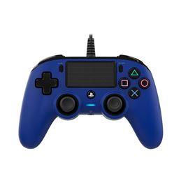Nacon mando consola PS4 con cable Azul - nacon-ps4-azul