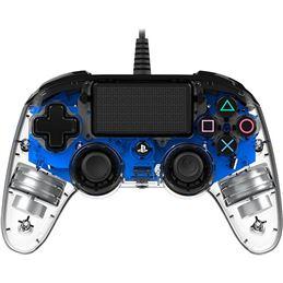 Nacon Mando consola PS4 con cable Iluminado Azul - nacon-ps4-light-azul