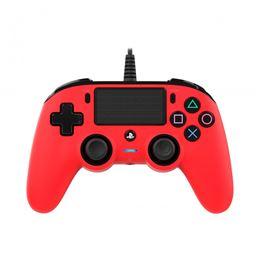 Nacon mando consola PS4 con cable Rojo - nacon-compact-controller-wired-para-ps4-rojo