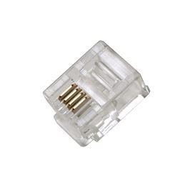 CON041 Ficha RJ11 6p4c Conector modular telefónico - con041_v01_02