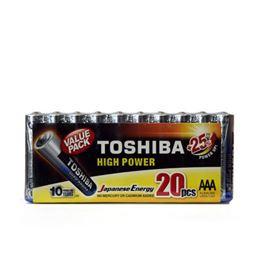 Toshiba LR03 Pila Alcalina AAA (blister-20pcs) - toshiba-mp-20