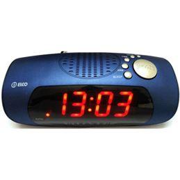 Elco PD-133 Radio reloj despertador AM/FM Azul - radio-reloj-despertador-elco-pd-133-azul