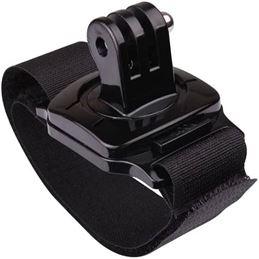 Correa de mano para cámaras de acción GoPro - 360-degree-swivel-mount-elastic-wrist-strap-for-gopro-hero-4-3-3-plus-1