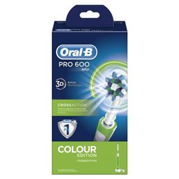 Oral-B PRO-600 Cepillo dental Cross Action Verde - 04210201105398-2