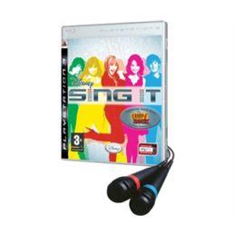 Sing It: Hanna Montana Camp Rock PS3 + Micrófonos - disney-sing-it-hanna-montana-ps3
