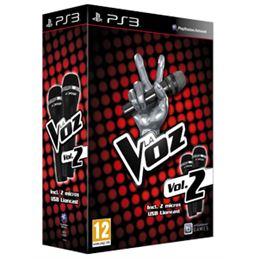 La Voz Vol.2 + micros - Juego PS3 - PS3 LA VOZ VOL.2+2 MICROS