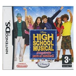 High Scool Musical: Prepárate el musical Juego DS - 045496465346