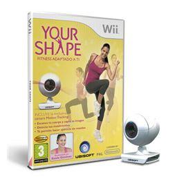 Your Shape Fitness Adaptado a ti + Cámara Juego Wi - your-shape-wii+cam