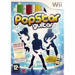PopStar Guitar - Juego Wii - popstar-guitar-wii