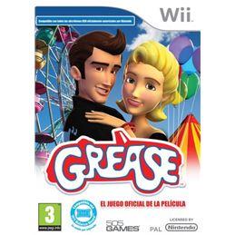 Grease: El juego oficial de la pelicula. Juego Wii - Grease_El_juego_oficial_de_la_pelicula_portada.