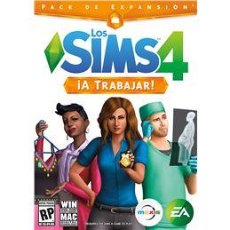 Los Sims 4: ¡A Trabajar! - Juego PC (EXPANSIÓN) - Los_Sims_4_A_Trabajar_Portada