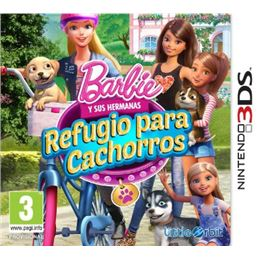 Barbie y hermanas: Refugio cachorros - Juego 3DS - 3DS BARBIE Y HERMANAS REFUGIO CAHORROS