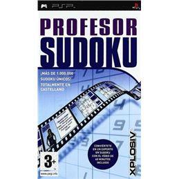 Profesor Sudoku - Juego PSP - profesor-sudoku-psp