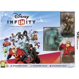 Disney Infinity STARTER PACK - Juego 3DS - disney-infinity-starter-pack-3ds