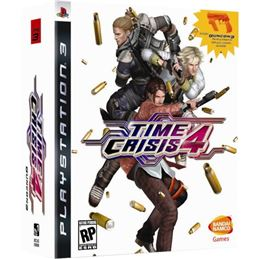 Time Crisis 4 + PISTOLA - Juego PS3 - TIME-CRISIS-4-PS3-PACK-PISTOLA-0