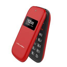 Völfen Nexo Flip Teléfono Móvil Dual Rojo - volfen-nexo-flip-dual-rojo