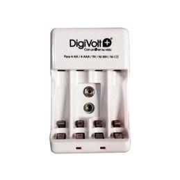 Digivolt QC-2402 Cargador Pilas Red R3/R6 / 9V - digivolt-cargador-para-4-r-6-4-lr-03-9v-qc-2402