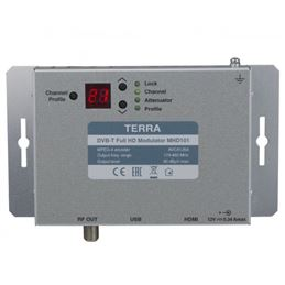 Terra MHD-101 Modulador DVB-T FHD, entrada Hdmi - terra-mhd-101