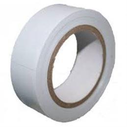 Cinta Aislante 19x0,15mm 10m. Blanco - cinta-aislante-blanco