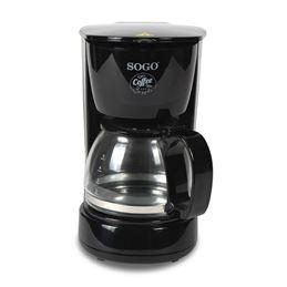 Sogo SS-5655 Cafetera Goteo 060L. 4-tazas 650W - SS5655-Cafetera-Goteo-060L.4-tazas-650W