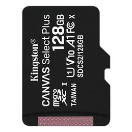 Kingston SDCS2/128GBSP Micro SD 128GB Canvas Plus - Kingston-SDCS2128GBSP-Micro-SD-128GB-Canvas-Plus
