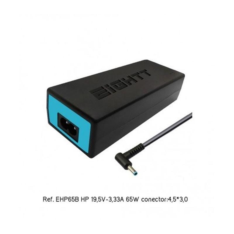 Eightt Cargador portátil Hp 19.5V/3,3A 65W 4.5*3.0 - cargador-especifico-hp-65w-4817-eightt (2)