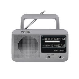 Sytech SY-1654 Radio Portátil AM/FM Plata - SY1654PL_1