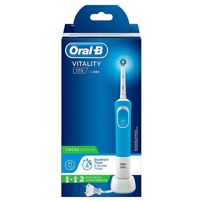 Oral-B Vitality 170 Cepillo dental Cross A. azul - braun oral-b d170 vitality azul
