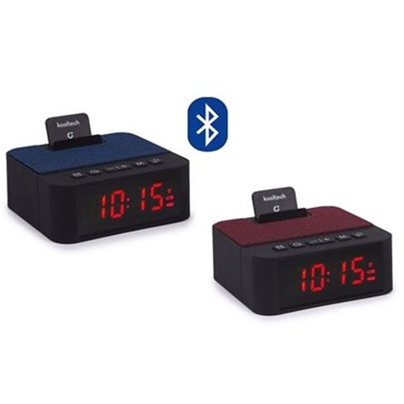 Kooltech SP442 Radio reloj despertador Bluetooth - SP-442