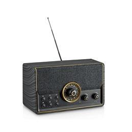 Kooltech CPR-TECHNO-N Radio BT USB Vintage negro - radio-digital-bluetooth-vintage