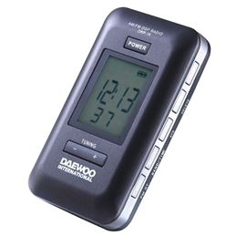 Daewoo DRP-18B Radio digital portátil AM/FM negro - drp-18b-negro