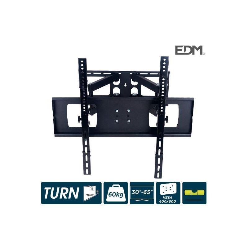 """Edm 50140 Soporte tv de pared articulado 30""""-65"""" - EDM 50140"""