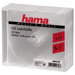 Hama 044748 Caja CD Jewell (Pack-5) - Hama 044748 Caja CD Jewell (Pack-5)