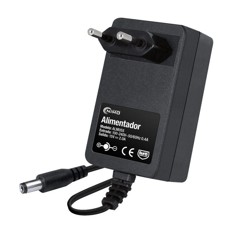 Nimo ALM055 Alimentador electrónico 15Vcc/2,0A - ALM055
