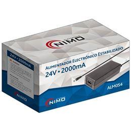 Nimo ALM054 Alimentador elecrónico 24Vcc. 2,0A - alm054_v04_pack01